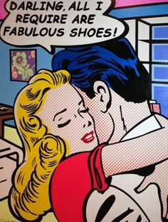 Darling, all I require are fabulous shoes! <3