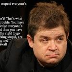 """Patton Oswalt Religion Meme: """"You gotta respect everyone's beliefs…? That's what gets us in trouble. You have to acknowledge everyone's beliefs. And reserve the right to go """"That is. Atheist Quotes, Anti Religion, Youre My Person, Thought Provoking, Wise Words, Me Quotes, Quotable Quotes, Famous Quotes, Philosophy"""