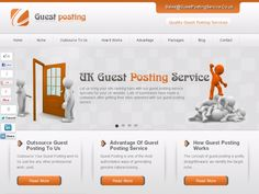 Guest Posting Services UK - Guest Blog Posting Service | Blogger Outreach