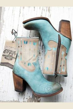 the wanderlust boot- turquoise