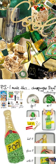 P.S.- I made this...Champagne Treat with #Mister_Krisp #PSIMADETHIS #DIY