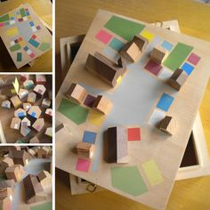house blocks and landscape - Kickcan & Conkers: Eupalina