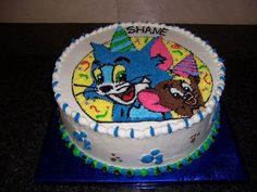 Tom And Jerry on Cake Central