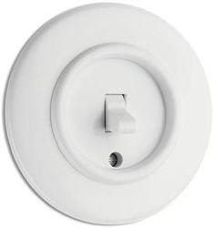 Pyöreä - Electrical fixtures, white - 516-125-4 - 1