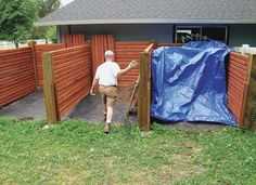 Composting article for horse properties with bin plans