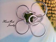 Aluminum Ring. Anillo de Aluminio  4.00  www.facebook.com/HandMade.HechoaMano   Aluminum Wire Ring