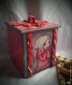 Декупаж - Сайт любителей декупажа - DCPG.RU | Игра «Снегурочки- декупажницы». Подарок №11