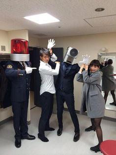 映画泥棒がいたので、確保しておきました! #仮面ライダードライブ