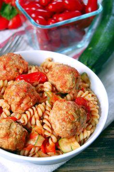 Easy Baked Turkey Meatballs