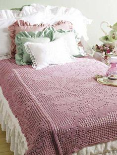 Bed of Roses Filet Throw (You have to sign up with website to get this free pattern)