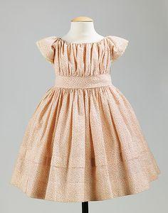 Dress, 1860-69, at the Met