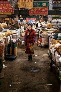 Sichuanese cooking has been conquering the world. It has become China's favorite out-of-home dining, sold in countless restaurants that often advertise its trademark chile heat. Here, a wholesale spice market frequented by chefs in Chengdu, China. (Photo: Adam Dean for The New York Times)