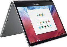 "Open-Box Certified: Samsung - 12.3"" Chromebook Plus - Touch Screen- 4GB memor..."