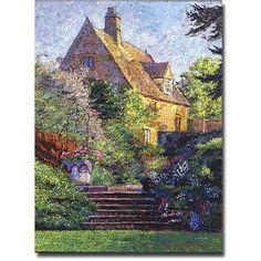 Trademark Art Majestic Impressions Canvas Wall Art by David Lloyd Glover, Size: 18 x 24, Multicolor