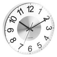 Horloge et coucou design Horloge verre et métal, Karlsson