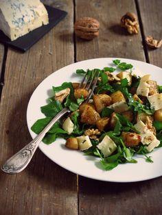 Salade de panais rôtis au cresson