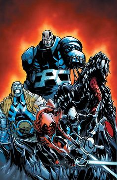 Extraordinary X-Men #12 by Humberto Ramos, colours by Edgar Delgado *