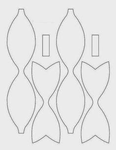 molde-lazo-de-papel-para-decorar-regalos.jpg (386×500)