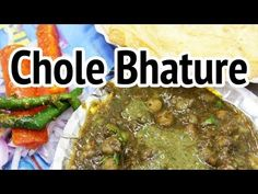 Chole Bhature (छोले भटूरे) - Mouthwatering Chickpeas and Deep Fried Bread at Sita Ram Diwan Chand - http://www.youtube.com/watch?v=WPbZ8jwS7-w