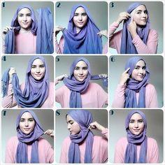 Simple street hijab
