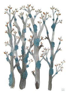 fungi forest no. 2 by Golly Bard, via Flickr
