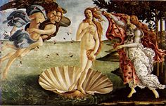 Greek Goddess Aphrodite: Goddess of love, beauty and desire; Although married to Hephaestus she had many lovers, most notably Ares, depicted as a beautiful woman; her symbols include the rose, scallop shell, pomegranate, and myrtle wreath; Her sacred animal is the dove.