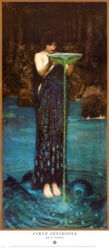 """Circe Invidiosa"" by John William Waterhouse"