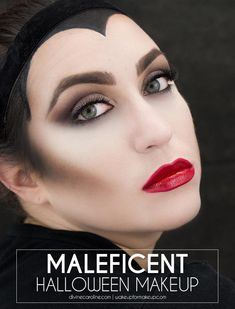 If you're stressing over what to be this Halloween, look no further. Here's how to re-create the wicked glam of Disney's Maleficent. If you love contouring and a bold lip, this Halloween makeup look is for you!