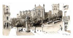 Toulouse - cathédrale St Etienne  (via Flickr)