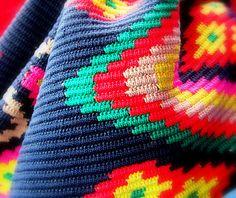 beautiful pattern from Wayuu bag