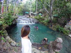 1 out of the 3 Hagimit Falls #7107PinayBackpacker