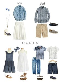 What to Wear in a Family Photo Shoot - The Motherchic Spring and summer is a great time of year to finally get around to those family portraits. I'm a big fan of outdoor photos, natural light, and lush, blooming backdrops…. oh, and the beach is nice too Family Picture Colors, Family Picture Outfits, Photo Shoot Outfits, Photoshoot Ideas, Summer Family Pictures, Fall Family Photos, Family Pics, Family Posing, Summer Family Portraits
