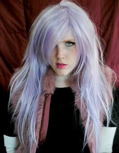 20% OFF Pastel wig, pastel purple wig, purple wig, scene wig, cosplay wig // Pastel Purple Hair // Straight Long Lolita // PR10