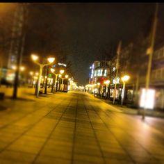 Duisburg at night
