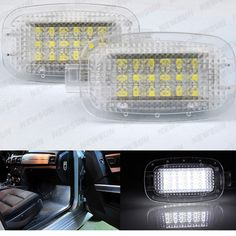 Free shipping LED Courtesy Lamp Door Lights for Mercedes-Benz W204 W216 W217 W212 W221,W245 5D,Smart Fortwo 2D,C197 2D,X164 5D