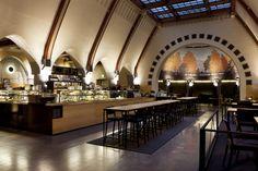 Cafe Jugend by aleksi hautamäki, via Behance