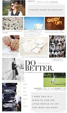 ABOUT ME - Lifestyle & Fashion Blog about Life's Little Details | A Dash of Details