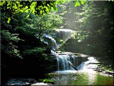 Buttermilk Falls, Ithaca, NY One of my favorite places to go - back in the day with Andrew :)