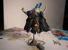 Tzeentch Sorcerer painted back by daemonclaw    http://www.bolterandchainsword.com/index.php?showtopic=133878=125#