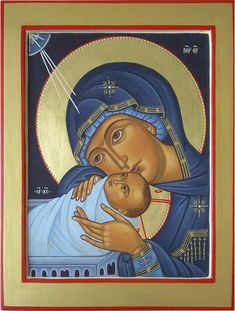 Religious Paintings, Byzantine Icons, Holy Mary, Madonna And Child, Blessed Mother, Mother Mary, Sacred Art, New Testament, Christian Art