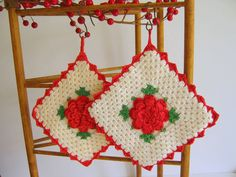 vintage pot holders - Bing Images