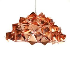 Faceted Metal Dome Lamp S, 535€, now featured on Fab.