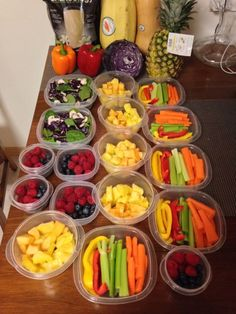 Clean eating food prep for the week! Let Duane Reade help you get healthy!