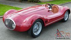 OSCA 1954 Barchetta 1500 cc Ferrari Red like Cisitalia, Stanguellini