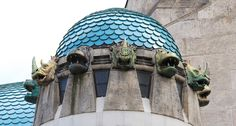 Budapest Zoo | The Elephant House (Zsolnay roof tiles and figurines).