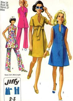 Simplicity 8278 Uncut 60s | Flickr - Photo Sharing!