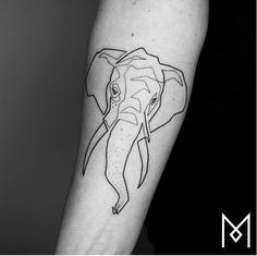 uma tattoo de @moganji