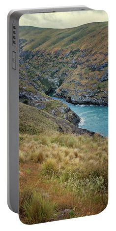 Akaroa Head Scenic Reserve New Zealand Portable Battery Charger by Joan Carroll.  Medium (5200 mAh)