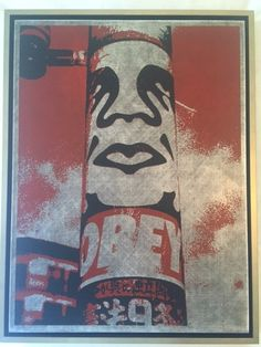 Shepard Fairey, 'Obey Pole,' 2001, De Re Gallery