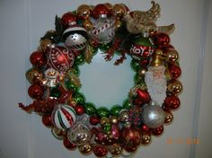 Glass Vintage and new Ornament Christmas by ForeverYoursCustom